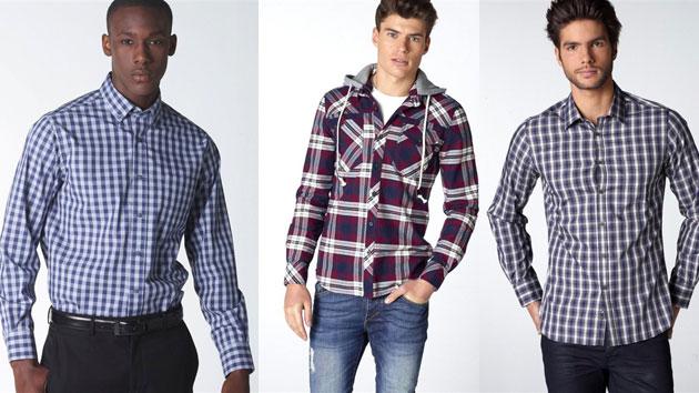 Ref. BOIN20140725001 Camisas para hombre