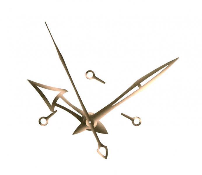 Ref. TRNL20150331001 Mecanismo de relojería para reloj con manecillas de peso especial