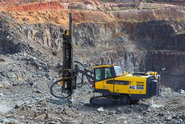 taladro mineria