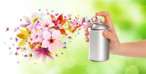 Ref TRBE20160525001: Suministro pasivo de fase vapor de ácido láctico durante un tiempo prolongado para ambientadores de hogar