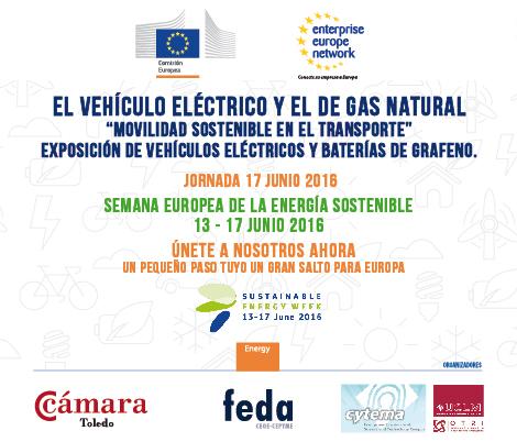 Jornada Regional sobre MOVILIDAD SOSTENIBLE EN EL TRANSPORTE. El Vehículo eléctrico y el de gas natural. 17 de junio - 10 hs.