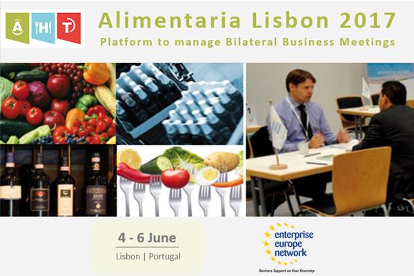 ENCUENTRO EMPRESARIAL EN LA FERIA ALIMENTARIA & HOREXPO 2017. Lisboa, 5 y 6 de junio