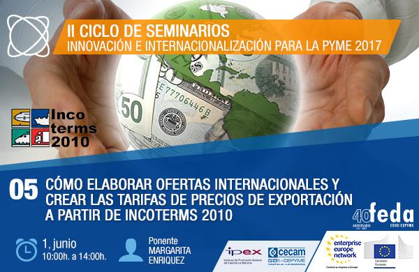 INNOVACIÓN E INTERNACIONALIZACIÓN PARA LA PYME 2017. Albacete, 1 de junio