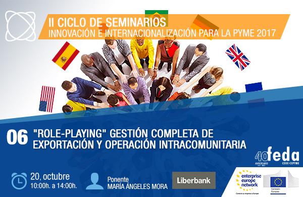 ROLE-PLAYING. Gestión de Exportación y Operación Intracomunitaria. Albacete, 20 octubre.