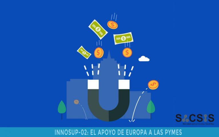 Convocatoria de propuestas INNOSUP - Para una mejor innovación en las PYMES 2020