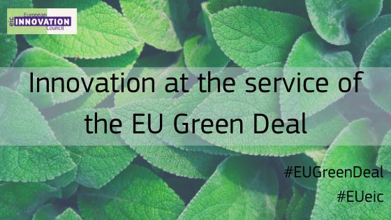 EU GREEN DEAL CALL - Convocatoria del Pacto Verde Europeo