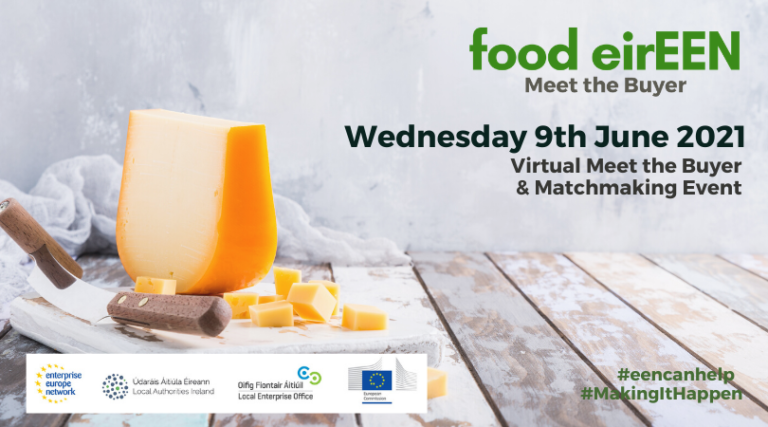 FOOD EIREEN MEET THE BUYER & MATCHMAKING EVENT Encuentro empresarial sector alimentacion  junio 2021