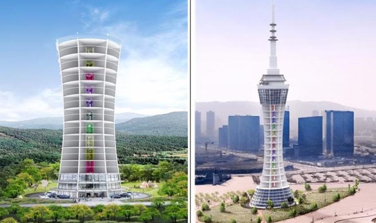 Ref. TOKR20210817002 Empresa coreana ofrece un nuevo sistema de energía eólica con palas horizontales que tiene una eficiencia cuatro veces mayor que los métodos convencionales