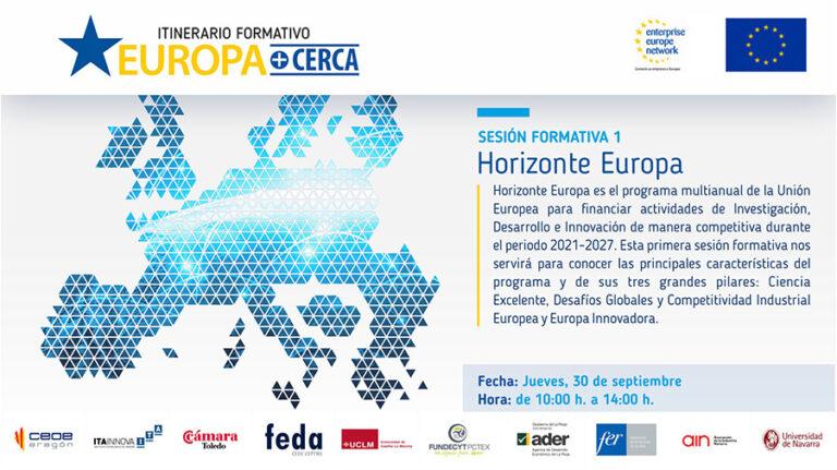 1º Seminario formativo EUROPA+CERCA: Horizonte Europa